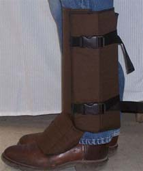 Brown Gaiters